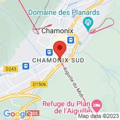 Carte / Plan Téléphérique de l'aiguille du Midi
