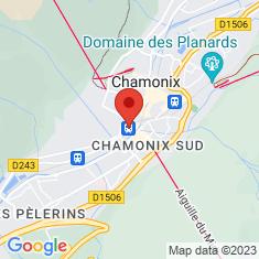 Carte / Plan Gare de Chamonix-Aiguille-du-Midi