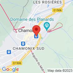 Carte / Plan Gare de Chamonix-Mont-Blanc