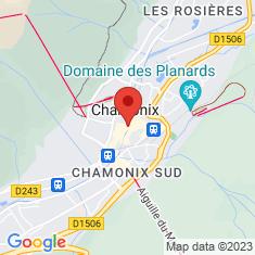 Carte / Plan Chamonix-Mont-Blanc