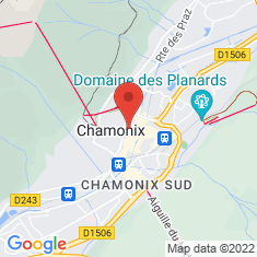 Carte / Plan Église Saint-Michel de Chamonix-Mont-Blanc