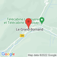 Carte / Plan Le Grand-Bornand