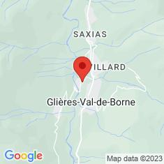 Carte / Plan Presbytère du Petit-Bornand-les-Glières