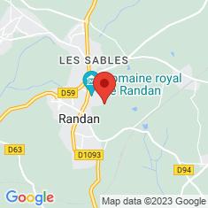 Carte / Plan Château de Randan