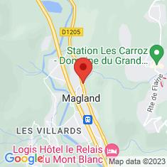 Carte / Plan Magland