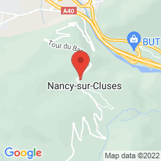 Carte / Plan Nancy-sur-Cluses