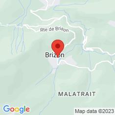 Carte / Plan Brizon