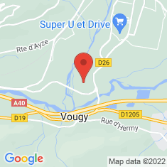 Carte / Plan Vougy (Haute-Savoie)