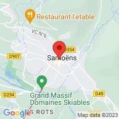Carte / Plan Église Notre-Dame de l'Assomption de Samoëns