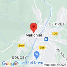 Carte / Plan Marignier