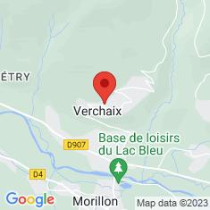Carte / Plan Église Saint-Guérin de Verchaix