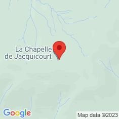 Carte / Plan Chapelle de Jacquicourt