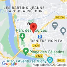 Carte / Plan Vichy
