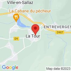 Carte / Plan La Tour (Haute-Savoie)