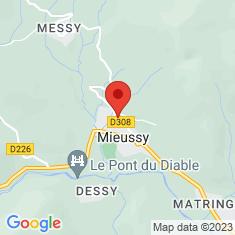 Carte / Plan Église Saint-Gervais de Mieussy