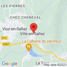 Carte / Plan Ville-en-Sallaz