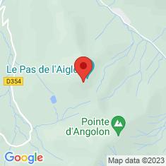 Carte / Plan Pointe de Nyon