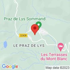 Carte / Plan Praz de Lys - Sommand