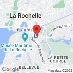 Carte / Plan Gare de La Rochelle-Ville