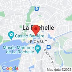 Carte / Plan Vieux-Port de La Rochelle