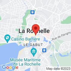 Carte / Plan Église Saint-Sauveur de La Rochelle