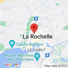 Carte / Plan Cathédrale Saint-Louis de La Rochelle