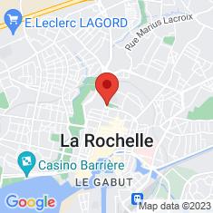 Carte / Plan Muséum d'Histoire naturelle de La Rochelle