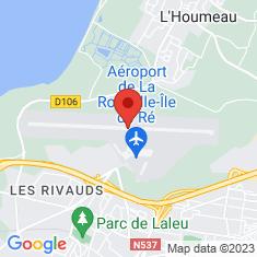 Carte / Plan Aéroport de La Rochelle - île de Ré
