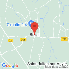 Carte / Plan Biziat