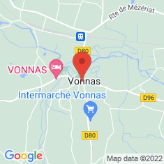 Carte / Plan Vonnas