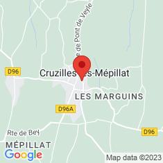 Carte / Plan Cruzilles-lès-Mépillat