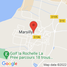 Carte / Plan Marsilly (Charente-Maritime)