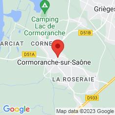 Carte / Plan Cormoranche-sur-Saône