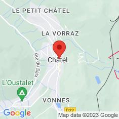 Carte / Plan Châtel