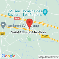 Carte / Plan Saint-Cyr-sur-Menthon