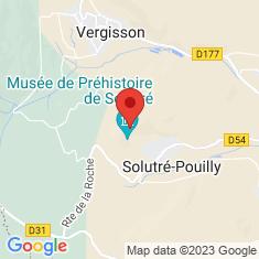 Carte / Plan Roche de Solutré