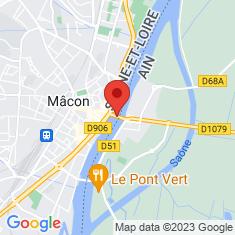 Carte / Plan Pont Saint-Laurent (Saône)