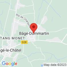 Carte / Plan Bâgé-la-Ville