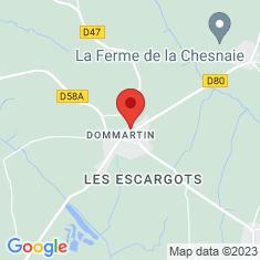 Carte / Plan Dommartin (Ain)