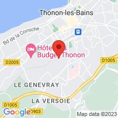 Carte / Plan Thonon-les-Bains