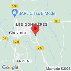 Carte / Plan Ferme de la Bourlière