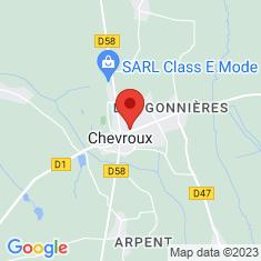 Carte / Plan Chevroux (Ain)