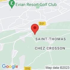 Carte / Plan Évian-les-Bains