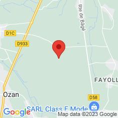 Carte / Plan Lande tourbeuse des Oignons