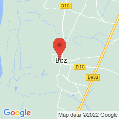 Carte / Plan Boz