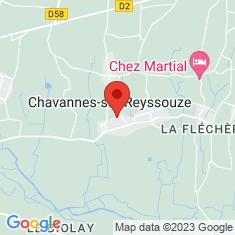 Carte / Plan Chavannes-sur-Reyssouze