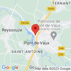 Carte / Plan Pont-de-Vaux