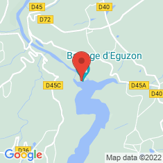 Carte / Plan Barrage d'Éguzon