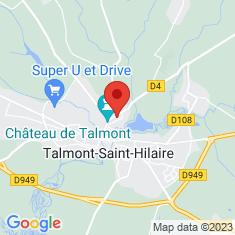 Carte / Plan Talmont-Saint-Hilaire