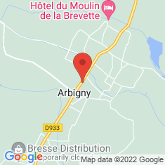 Carte / Plan Arbigny